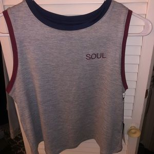 Soul Cycle Callie crop top XS